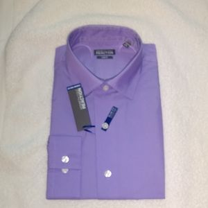 Kenneth Cole Reaction Slim Fit  L S Shirt